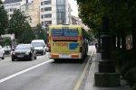 przekaz reklamowy na autobusie